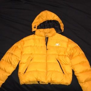 ESPRIT yellow puff jacket (Designer)